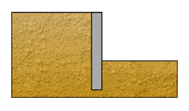 Soldier pile wall design